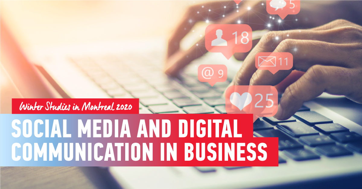 Social Media and Digital Communication Strategies in Business